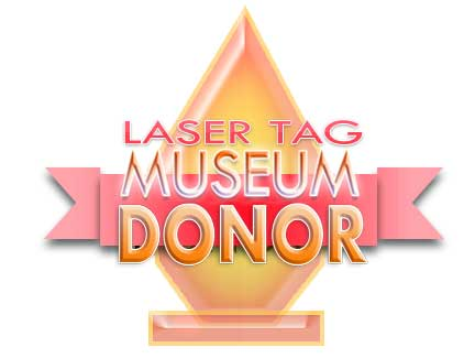 Zone Laser Tag is a Laser Tag Museum Donor