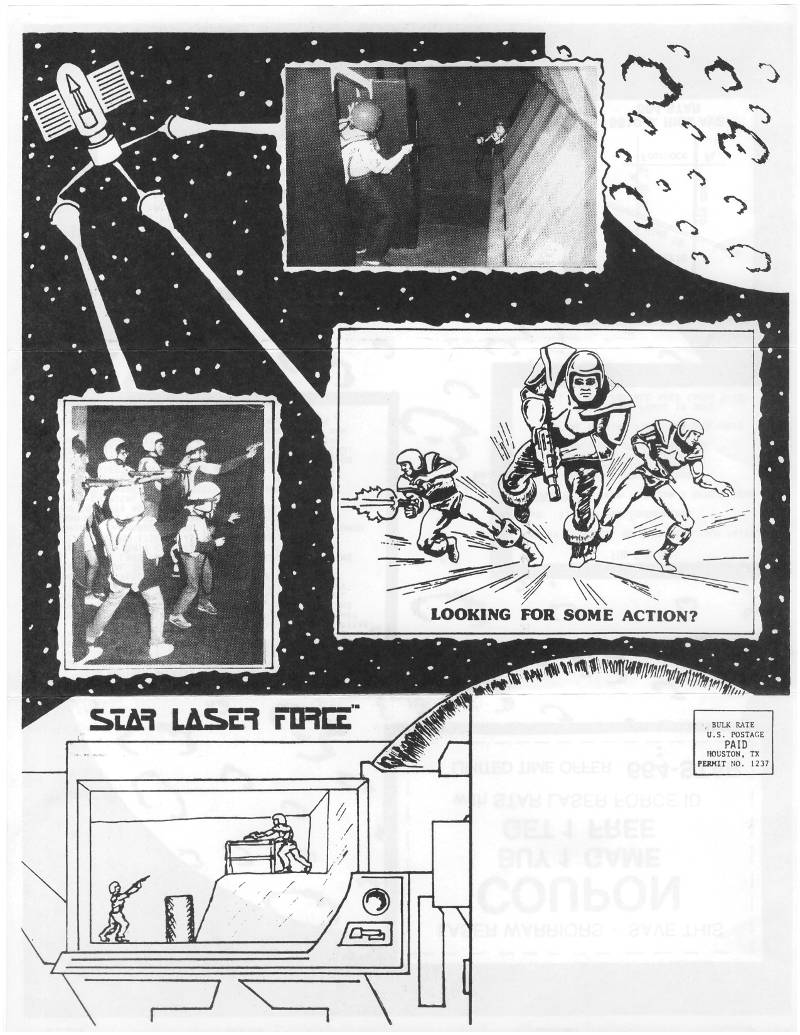 Star Laser Force Advertisement